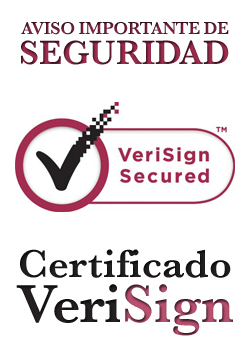 Aviso importante de Seguridad. Certificado VeriSign