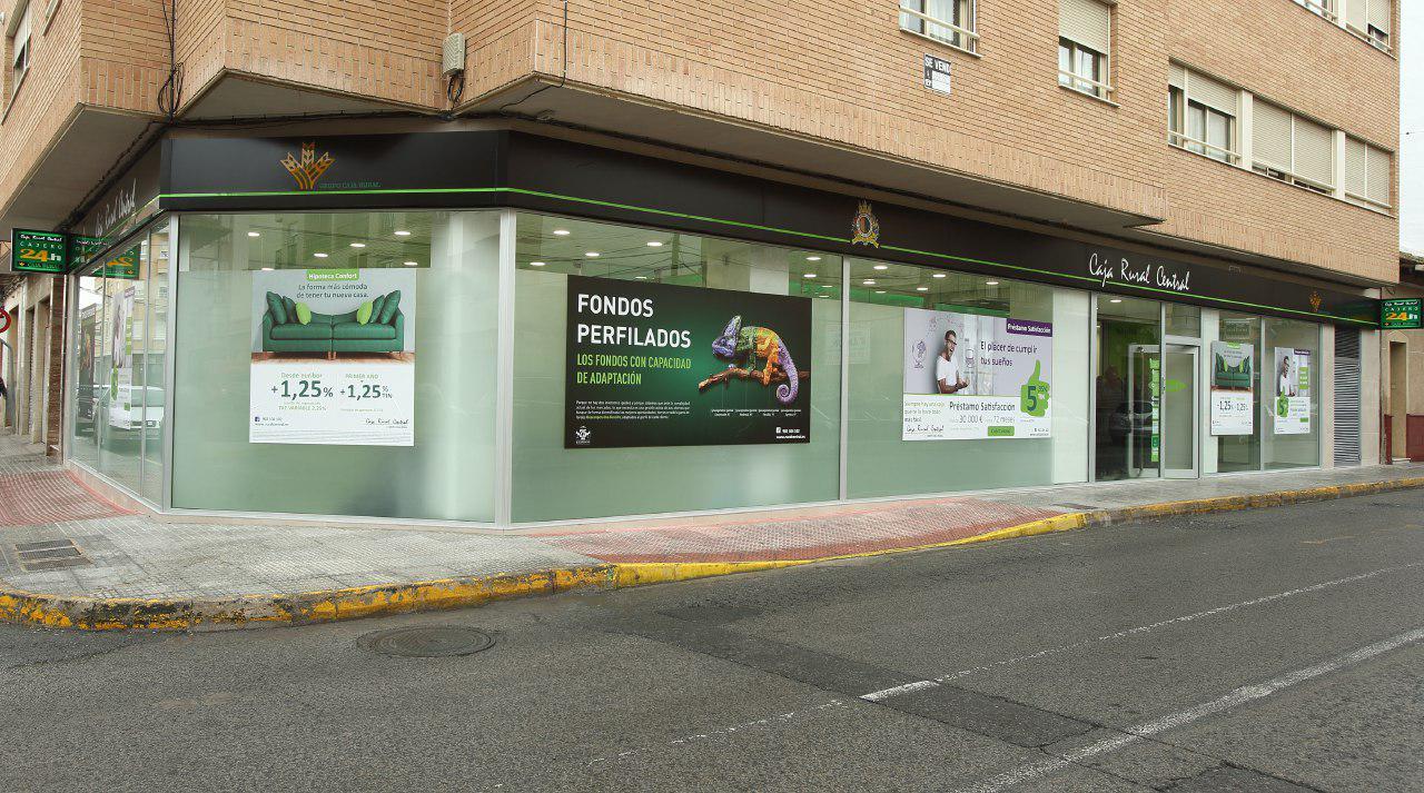 Las cajas rurales de la comunidad valenciana ganan un 25 for Caja murcia valencia oficinas